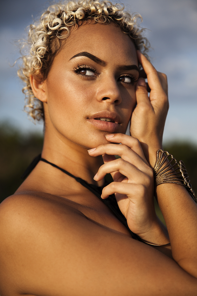 Lala, Guyala Bales - Aboriginal Indigenous model photographed by Alicia Fox