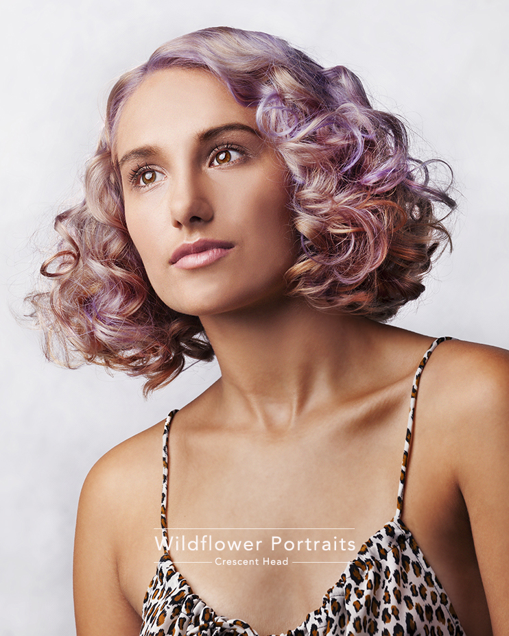 Professional hair photography for hair dressers and hair stylists by Wildflower Portraits, Mid North Coast NSW
