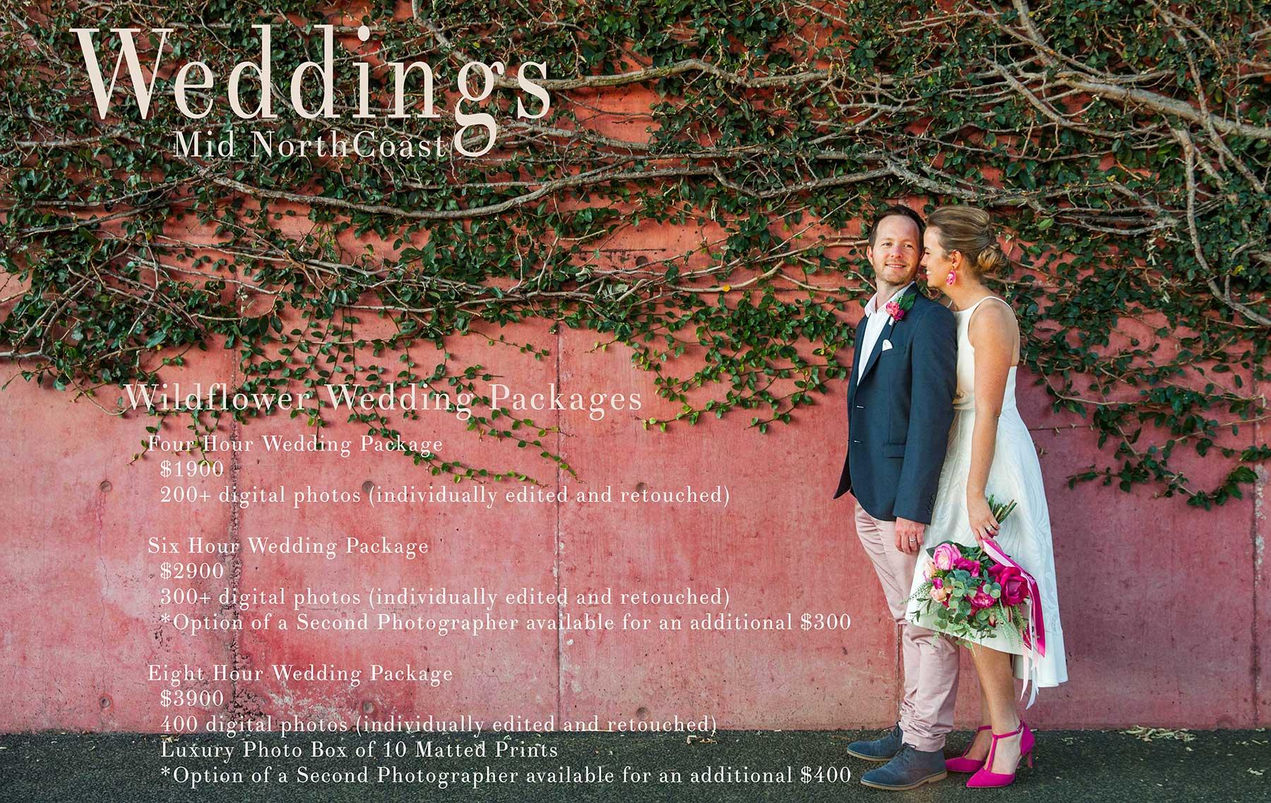 Crescent Head and Mid North Coast Wedding Photographer