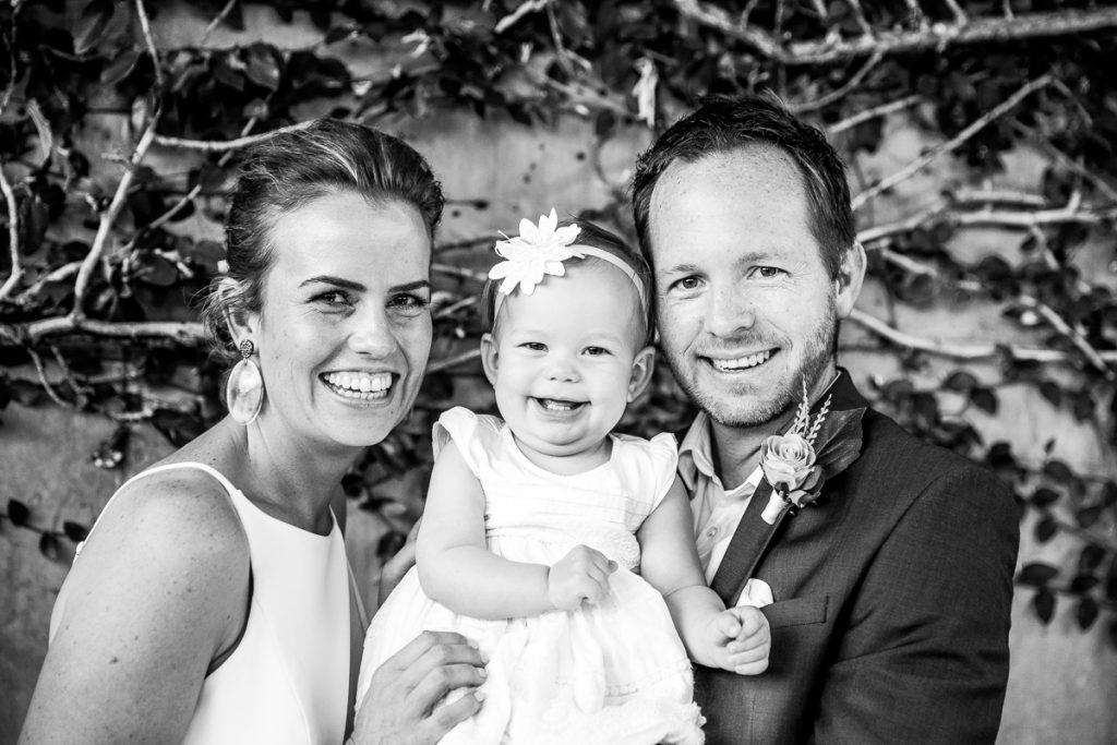 Family by Professional Wedding Photographer