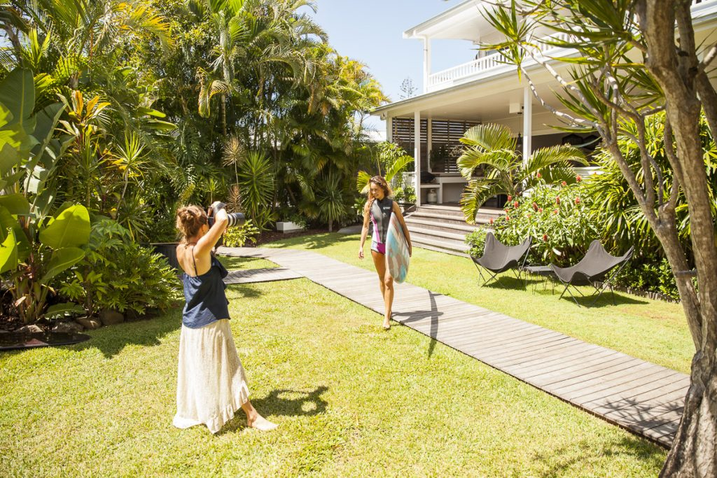 BTS fashion shoot byron bay